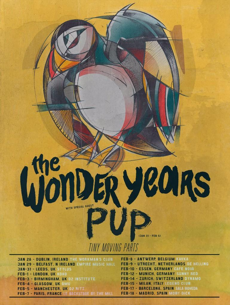The Wonder Years EU tour