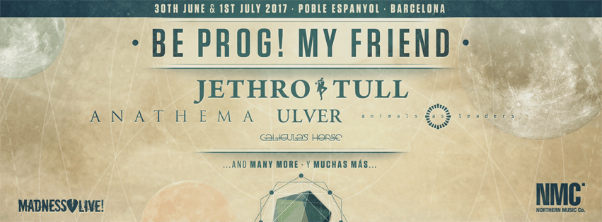 Be Prog! My Friend 2017