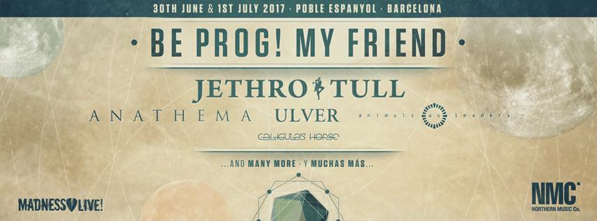 Be Prog! My Friend 2017