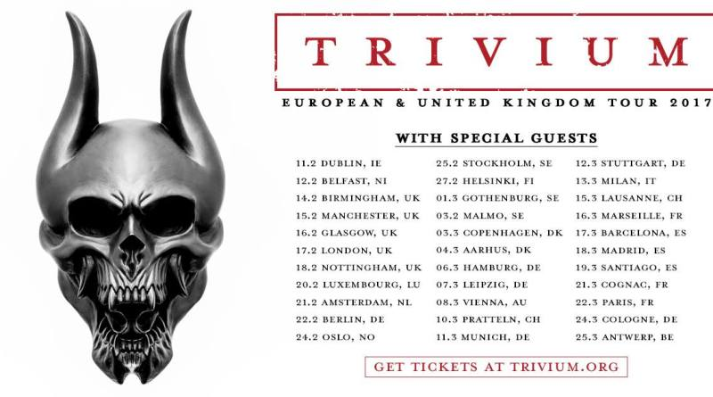 Trivium European Tour