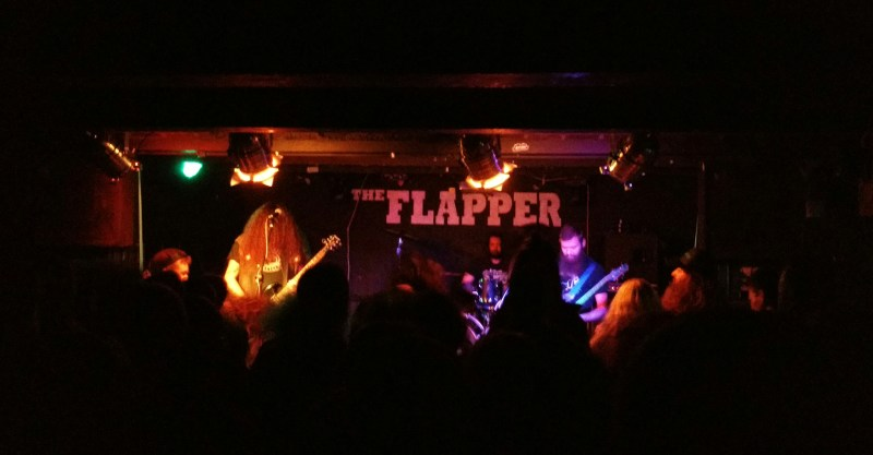 BongCauldron live @ The Flapper, Birmingham. Photo Credit: Andrew Rennie