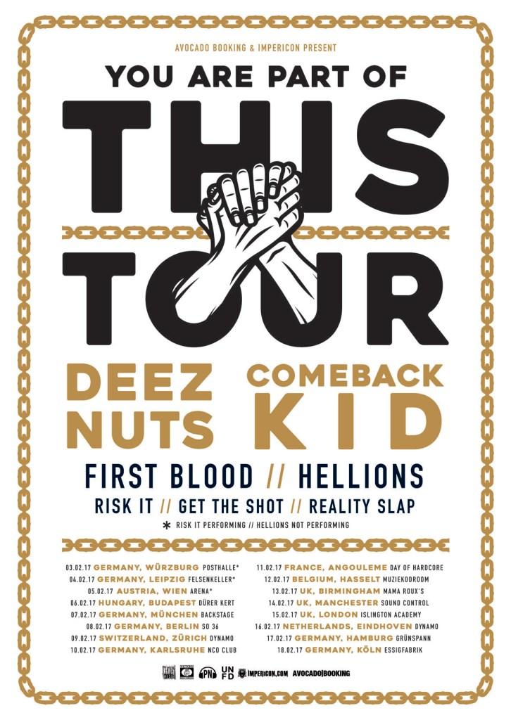 Deez Nuts tour 2017