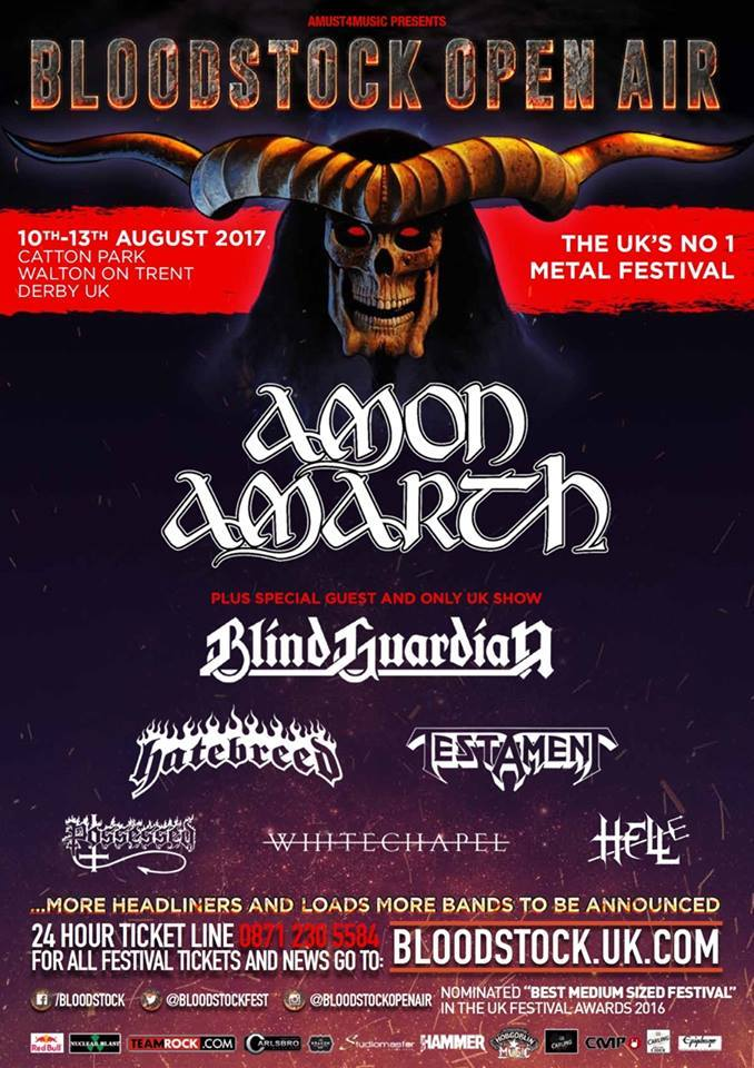Bloodstock Festival 2017 Announcement 1