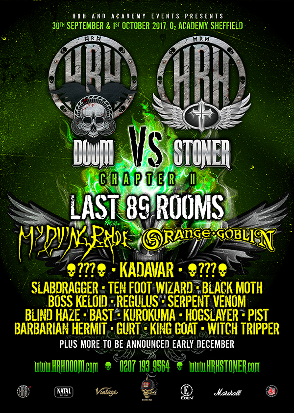 HRH Doom Vs HRH Stoner Chapter II