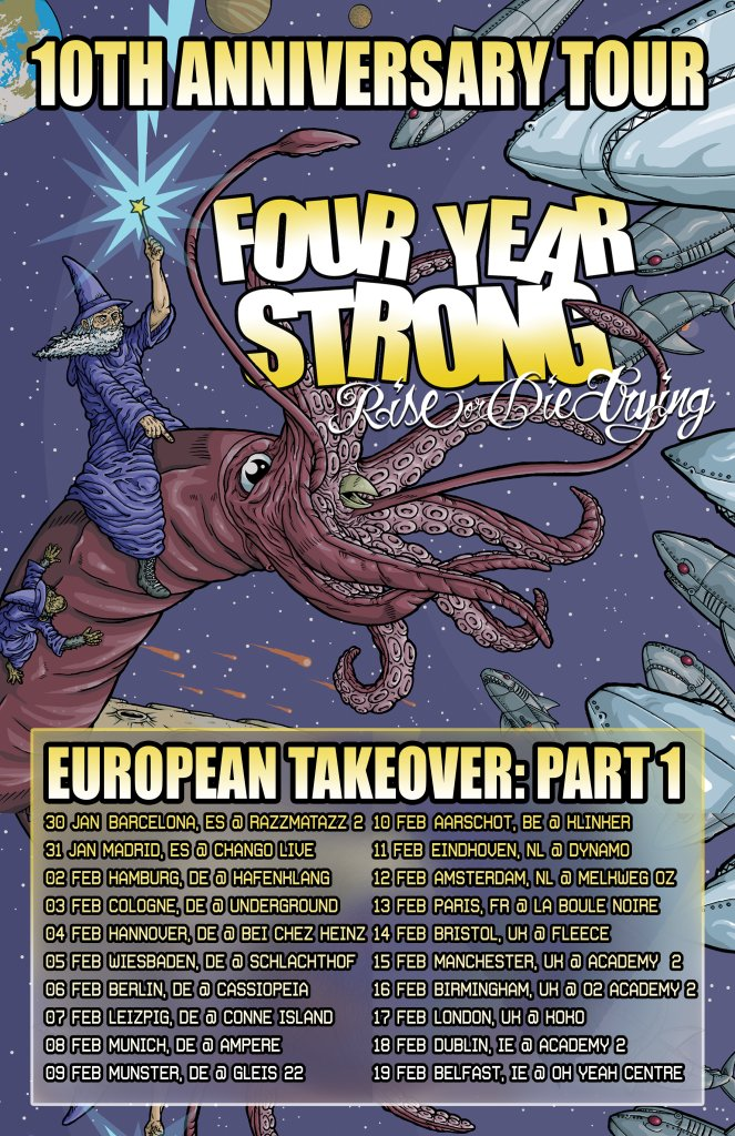 Four Year Strong EU tour 2017