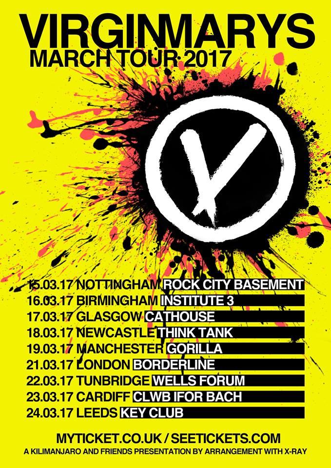 The Virginmarys UK tour 2017