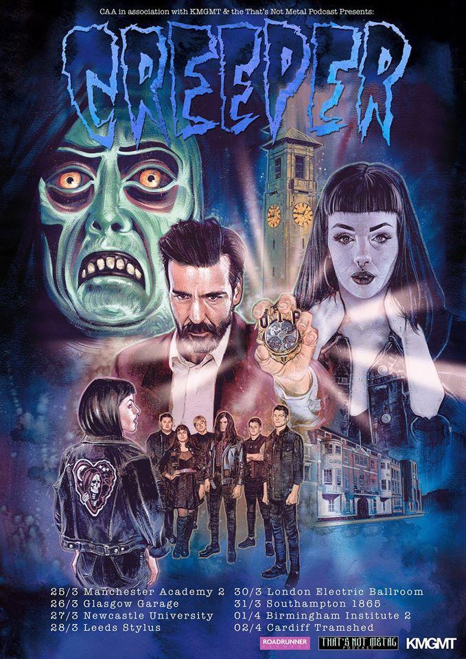 Creeper UK tour 2017