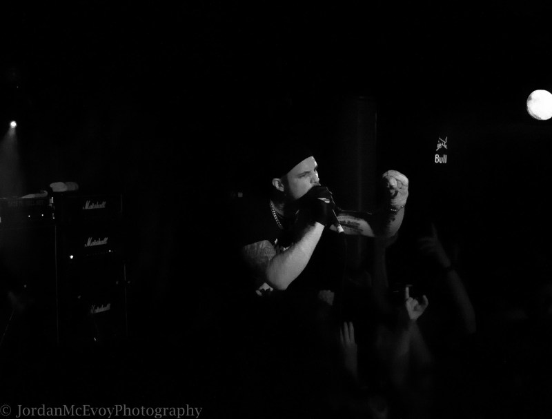 Shining live @ The Underworld, London. Photo Credit: Jordan McEvoy Photography