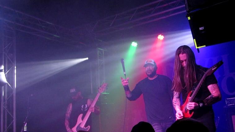 Devil You Know live @ The Cluny, Newcastle. Photo Credit: Dan Mchugh