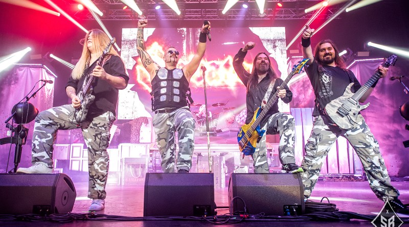 Sabaton live @ 02 Apollo, Manchester. Photo Credit: Sabrina Ramdoyal Photography