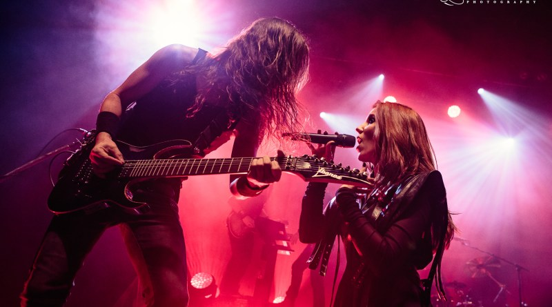 Epica live @ 02 Shepherd's Bush Empire, London. Photo Credit: Black Lotus Photography