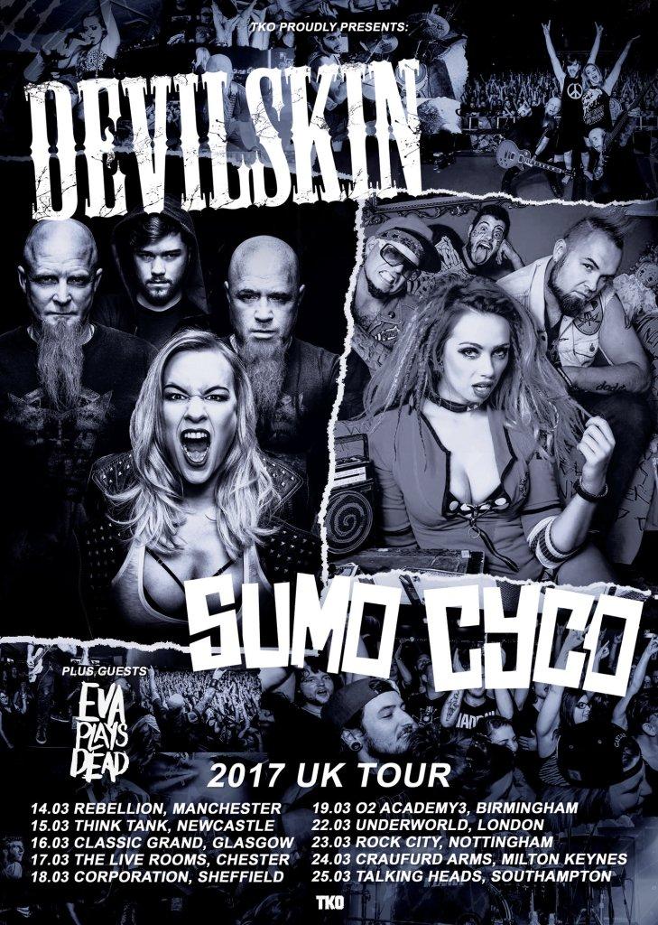 Sumo Cyco UK tour