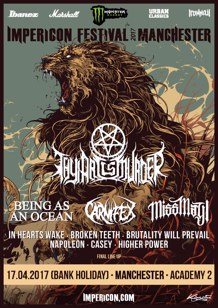 Impericon Festival UK Final Lineup