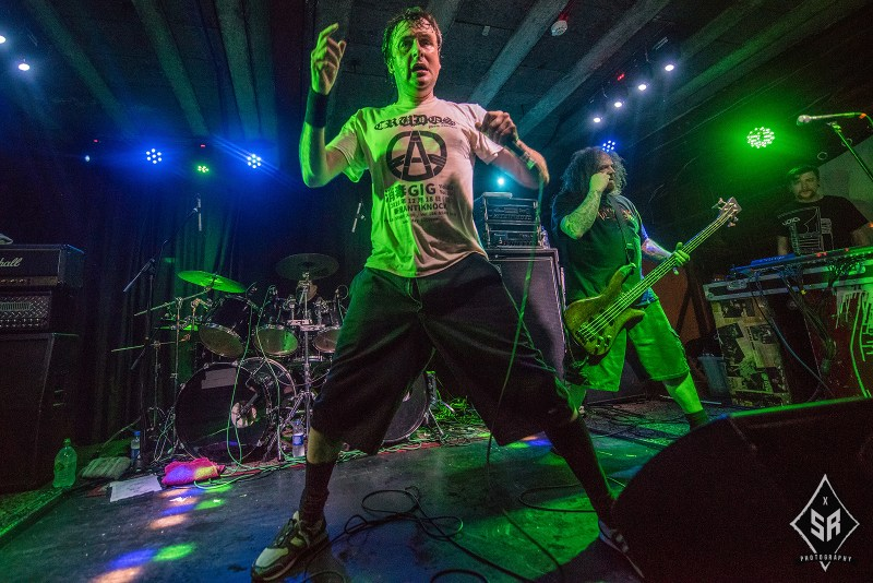Napalm Death live @ Rebellion, Manchester. Photo Credit: Sabrina Ramdoyal Photography