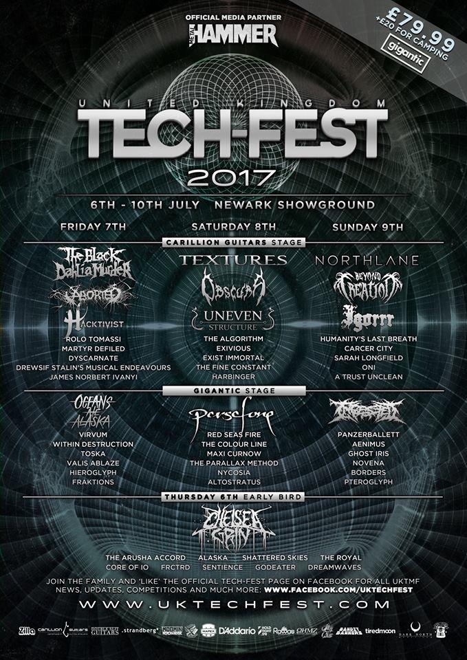 UK Tech-Fest 2017 - Final Lineup