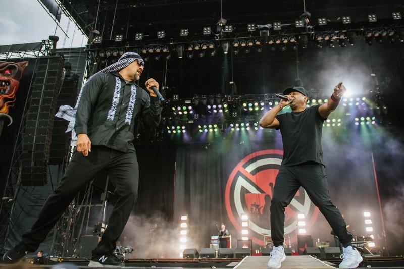 Prophets of Rage live @ Download Festival 2017. Photo Credit: Matt Eachus