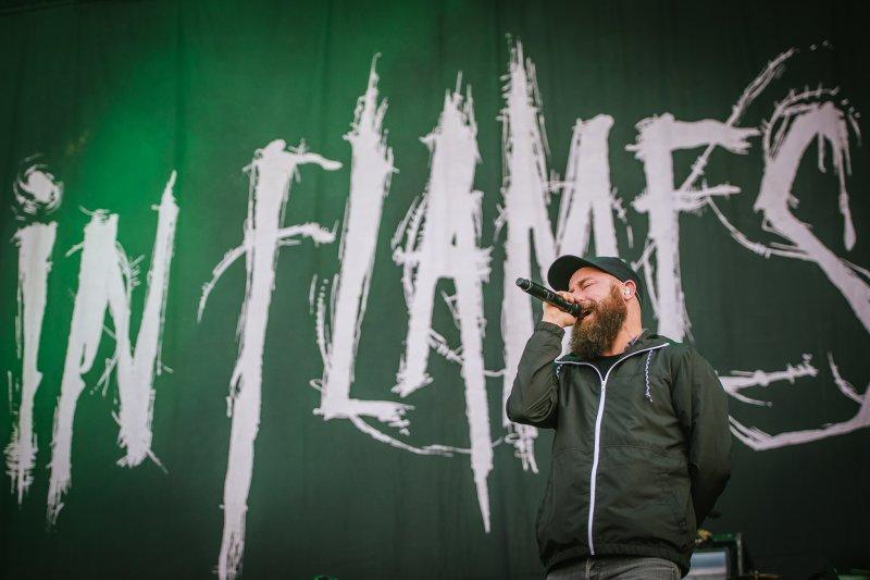 In Flames live @ Download Festival 2017. Photo Credit: Matt Eachus