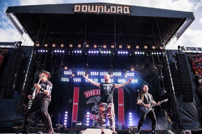 Five Finger Death Punch live @ Download Festival 2017. Photo Credit: Ben Gibson
