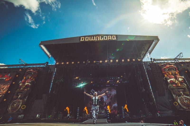 Sabaton live @ Download Festival 2017. Photo Credit: Ross Silcocks