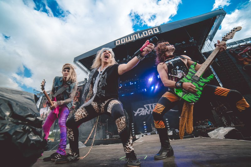 Steel Panther live @ Download Festival 2017. Photo Credit: Ross Silcocks