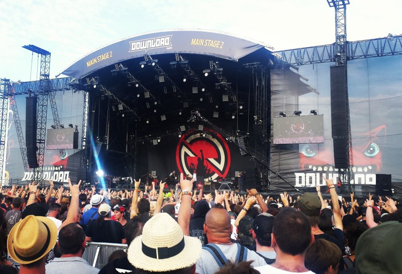 Prophets of Rage live @ Download Festival France 2017. Photo Credit: James Croft