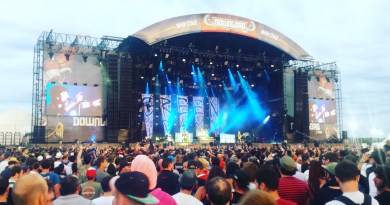 Green Day live @ Download Festival France 2017. Photo Credit: James Croft
