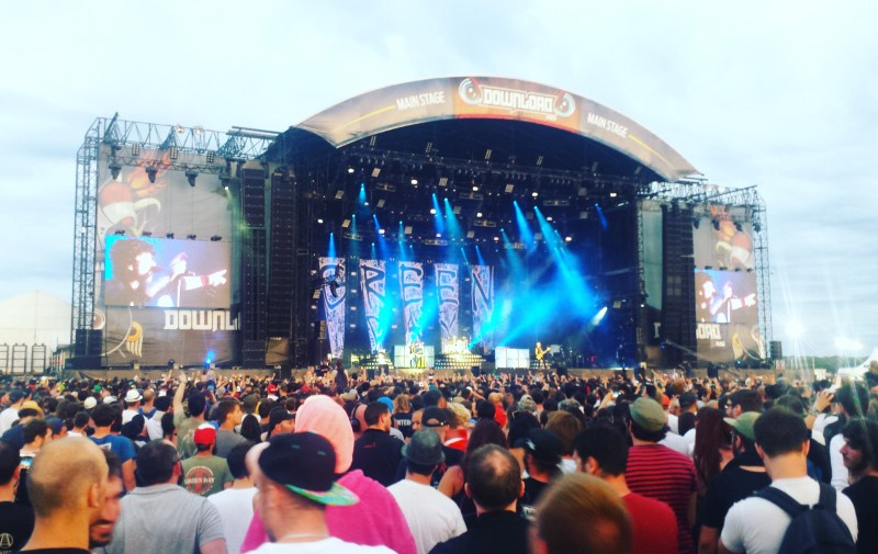 Green Day live @ Download Festival France 2017. Photo Credit: James Croft