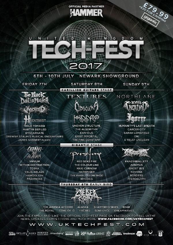 UK Tech-Fest 2017 FINAL LINEUP