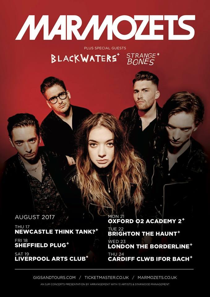 Marmozets UK tour 2017