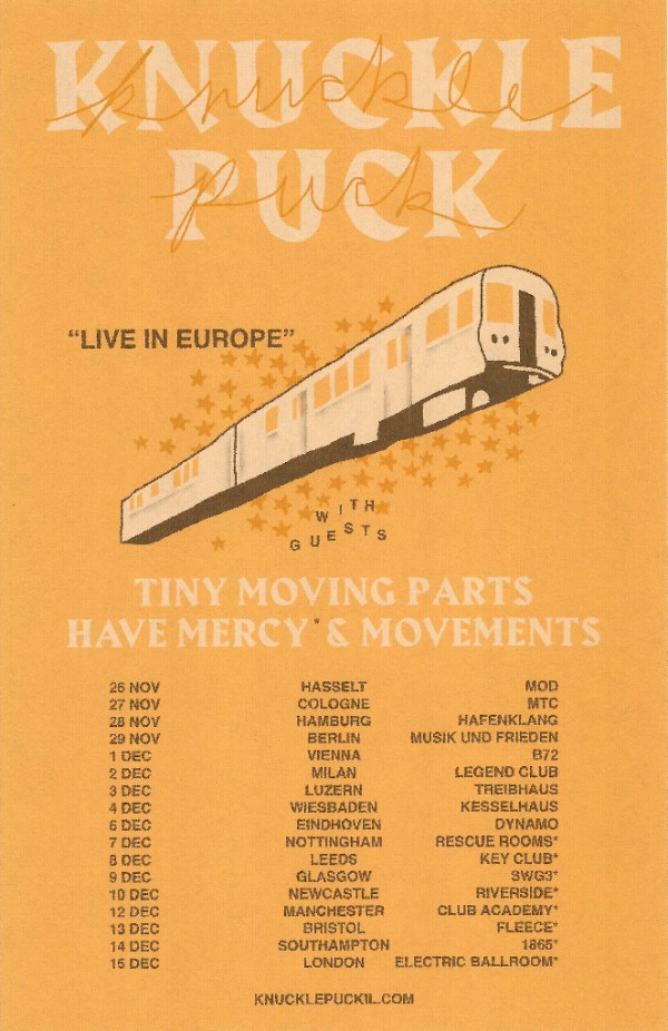 Knuckle Puck EU Tour 2017