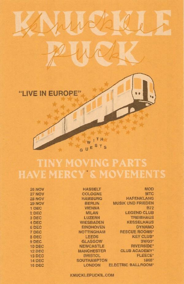 Knuckle Puck EU Tour 2017