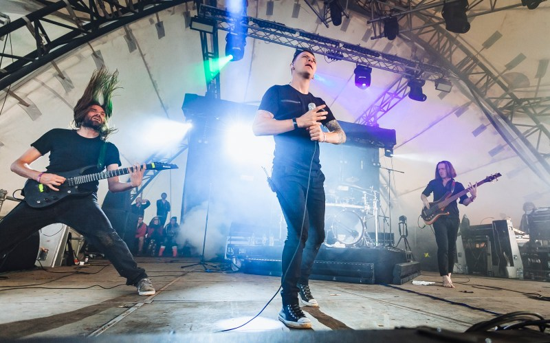 TesseracT live @ ArcTanGent Festival 2017. Photo Credit: Joe Singh