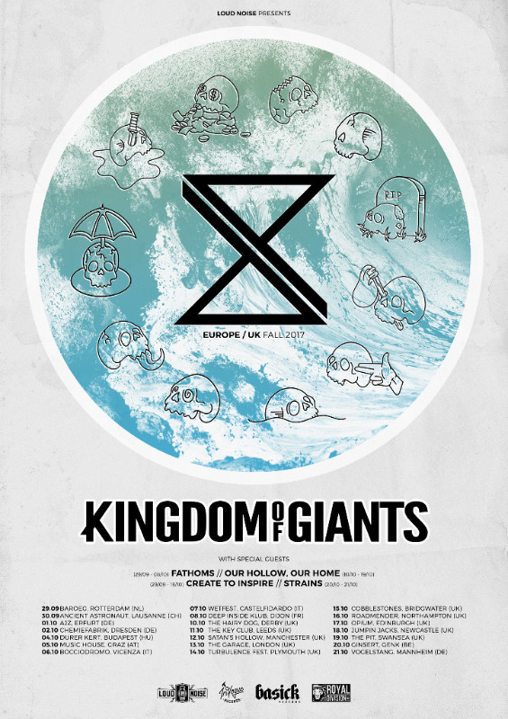 Kingdom of Giants/Create To Inspire EU/UK tour