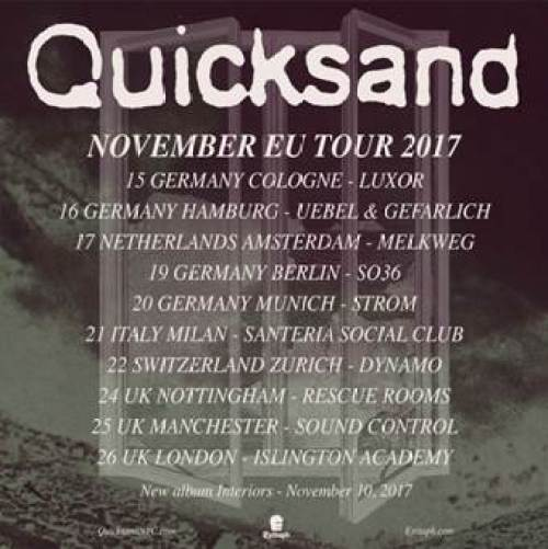 Quicksand EU/UK Tour 2017