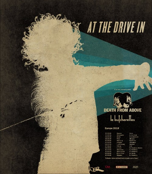 At The Drive In UK Tour 2018