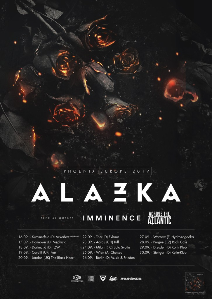 Alazka EU/UK Tour 2017