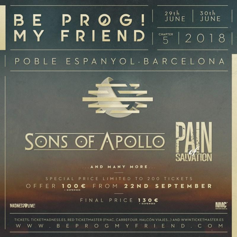 Be Prog! My Friend 2018 - September