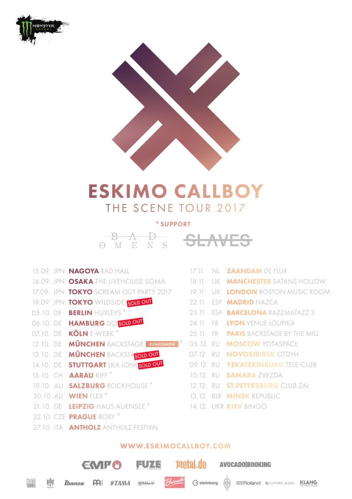 Eskimo Callboy EU Tour 2017