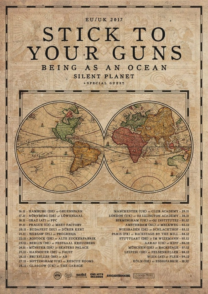 Stick To Your Guns EU/UK Tour 2017