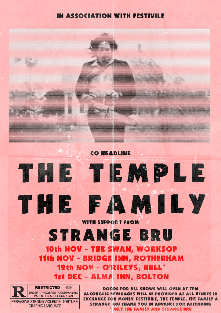 The Family/The Temple UK Tour 2017