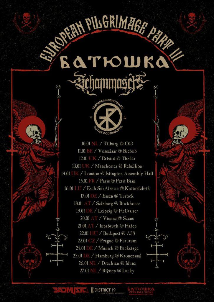 Batushka EU Tour 2018