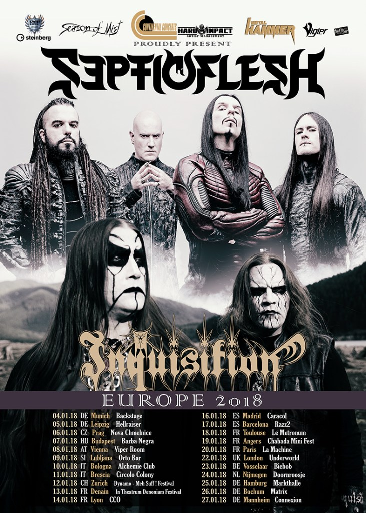 SepticFlesh European Tour 2018