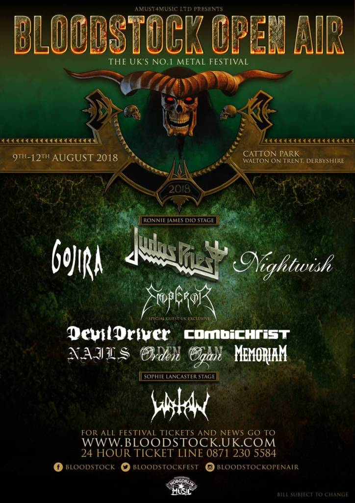 Bloodstock Festival 2018 - October 30