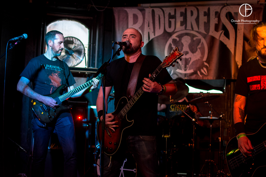 Beyond Salvation live @ Badger Fest 2017. Photo Credit: Occult Photography