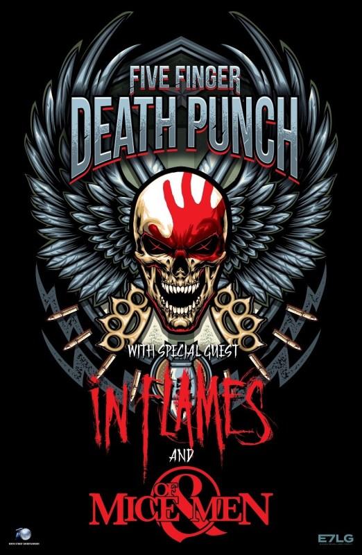 Five Finger Death Punch EU Tour 2017