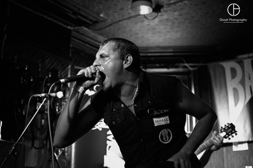 Obzidian live @ Badger Fest 2017. Photo Credit: Occult Photography