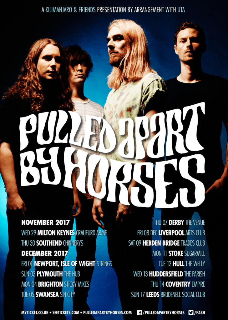 Pulled Apart By Horses UK Tour 2017