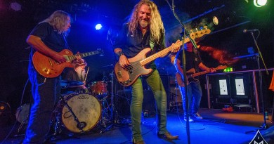The Kentucky Headhunters live @ Academy 3, Manchester. Photo Credit: Sabrina Ramdoyal Photography
