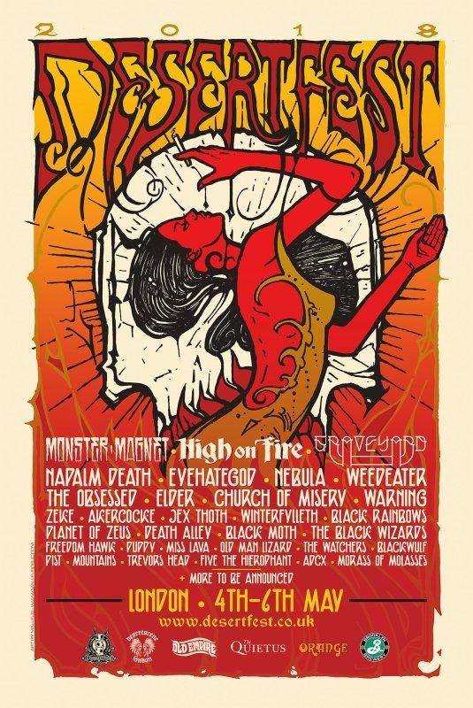Desertfest London 2018 - November 30