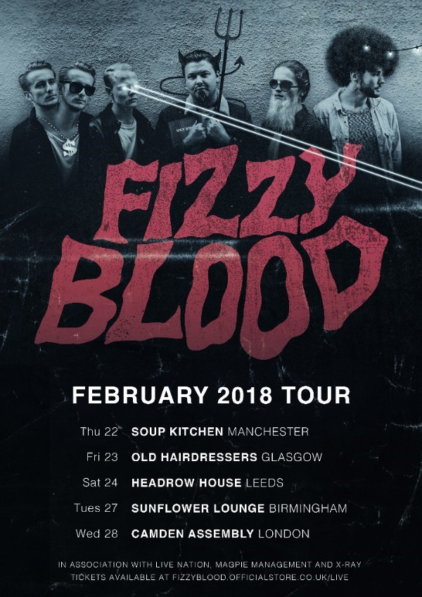 Fizzy Blood Tour 2017